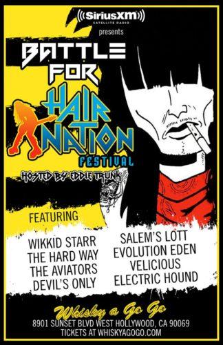 Battle For Hair Nation Fest