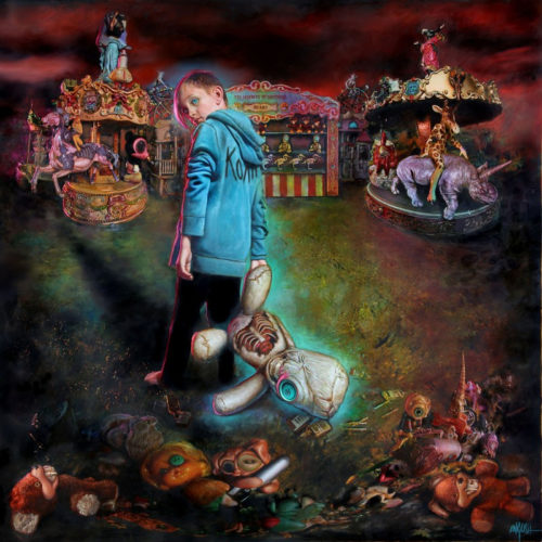 Korn Serenity of Suffering album Cover