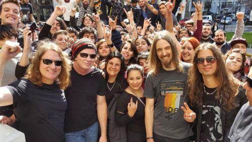 Photo via Megadeth Boot Camp Official Website