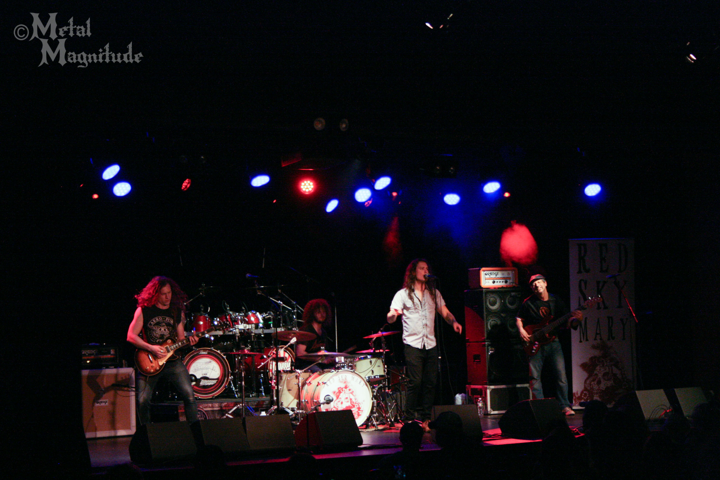 concert review warrant at tupelo music hall with red sky mary metal magnitude. Black Bedroom Furniture Sets. Home Design Ideas